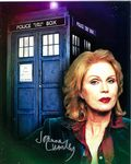 Joanna Lumley , DOCTOR WHO Genuine Signed Autograph,  10x8 11136